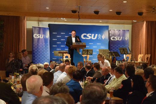 Klaus Hafner CSU Königstein Staatminister Joachim Herrmann Königstein