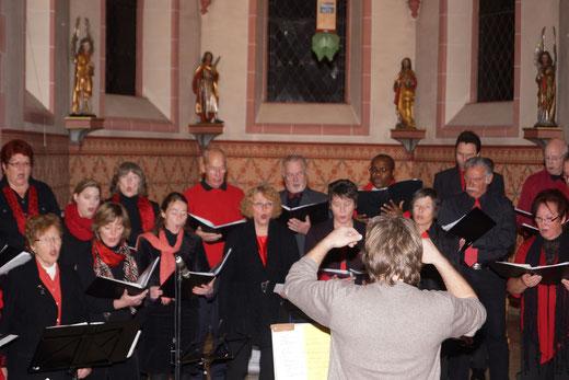Da Capo beim Adventskonzert in Wernborn 2012