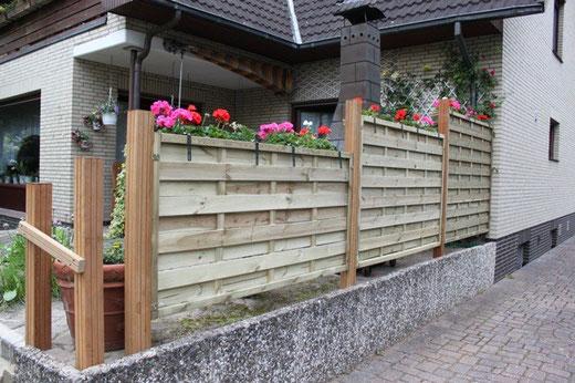 Sichtschutz für Terrassen