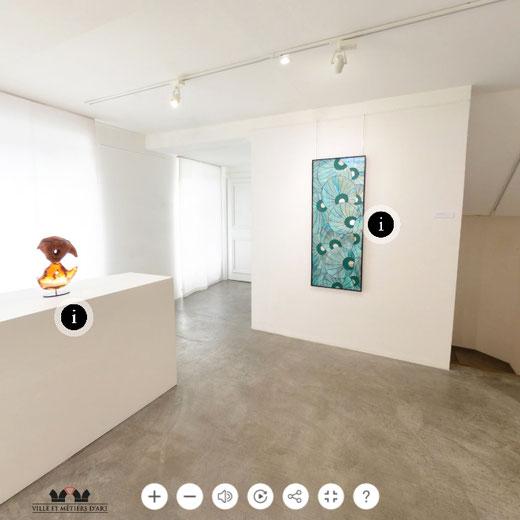 Myriam Hubert Exposition Côte d'Azur