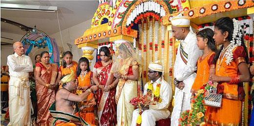 German Indian Wedding Im Kronenschlosschen Eltville