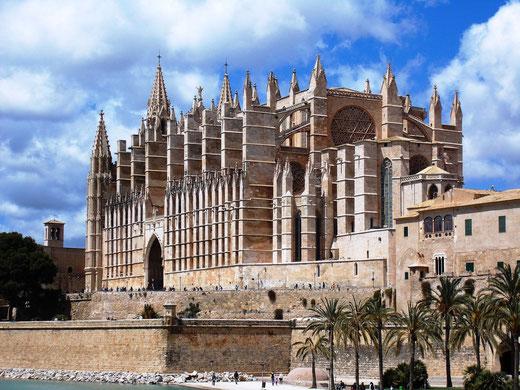 Kathedrale von Palma de Mallorca, mallorca, bilderundfilme