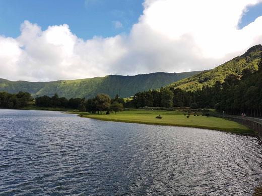 Landschaft in Sao Miguel, Azoren, Portugal