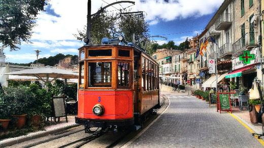 Die alte Straßenbahn von söller