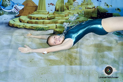 Schwimmen, Atlantis, Tauchen, Synchronschwimmen, Hai