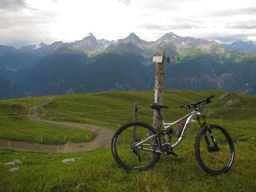 Die Aussicht ist grandios, die Trails genial.