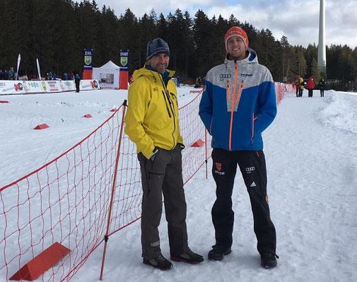 Thomas Ochsenreiter und Markus Fäßler