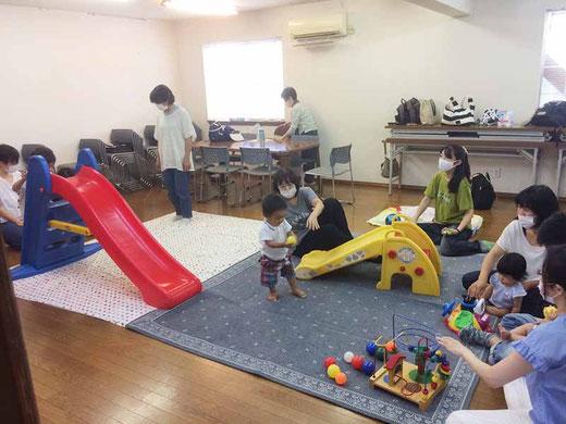 親子 ジョイジョイ 子ども 幼児 育児 子育て サークル 宇治 南陵町 京都 キリスト教