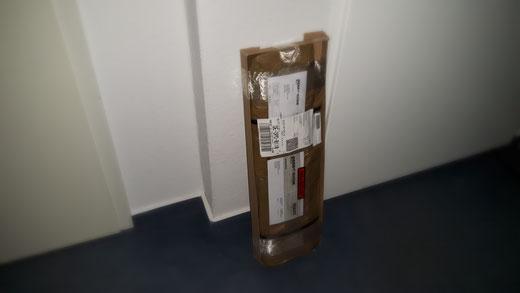 Bestelltes Material ist angekommen