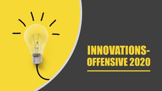 Jetzt Innovationskraft-Offensive starten - für Wachstum - auch in schwierigen Zeiten!
