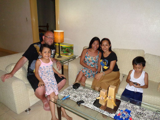Zu Gast bei Filipinos
