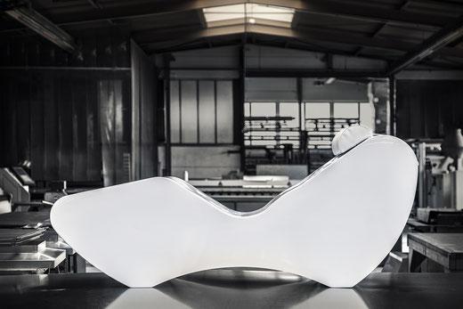 XPS Coatings by pilzdesign für individuell entworfene Möbelstücke auch in Einzelanfertigungen.