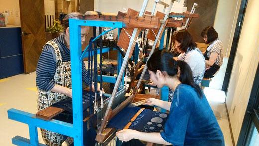 『久留米絣手織り・藍染め講習会』のご案内