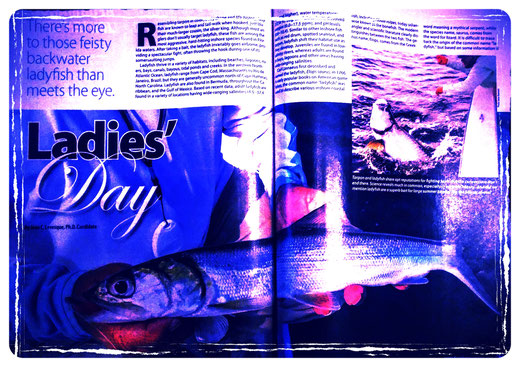 Juan C. Levesque, Fishery Biologist; Feature Magazine Article: Ladies' Day (Florida Sportsman Magazine May 2015)