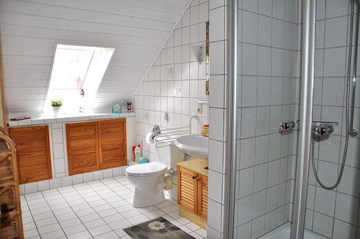Badezimmer Ferienwohnung An der Birke Bramsche