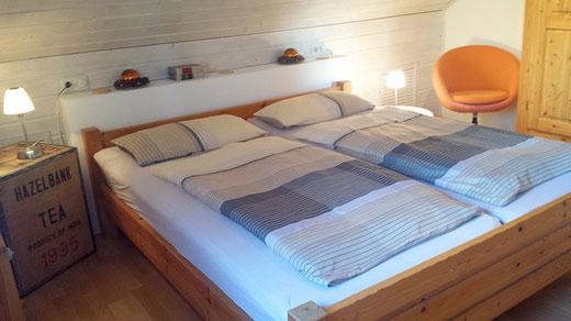 Schlafzimmer Ferienwohnung An der Birke Bramsche