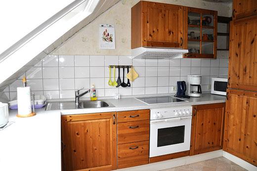Küche Ferienwohnung An der Birke Bramsche