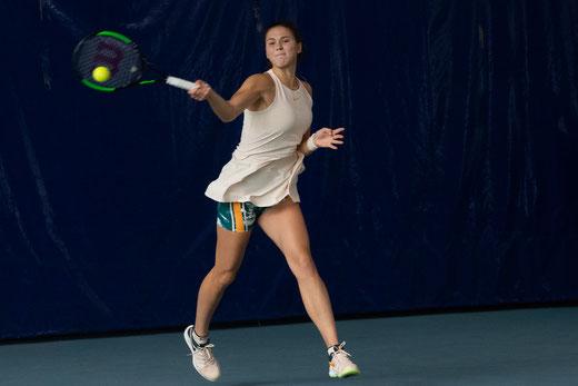 Natalia Vikhlyantseva a été expéditive pour se qualifier au 2e tour. Crédit photo : IFV