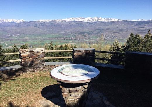 Mirador sobre l'Alta Cerdanya