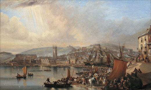 N. Conata  'St Ives'  (c.1850s)  (St Ives Town Council - Art UK)