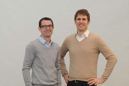 Bild: eeMobility Gründer und Geschäftsführer Klaus Huber und Robin Geisler