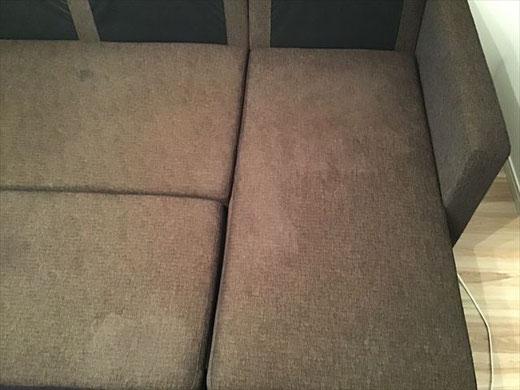布製ソファー 汚れ クリーニング ゲロ におい 消臭
