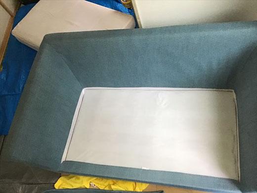緑区 布製ソファー クリーニング