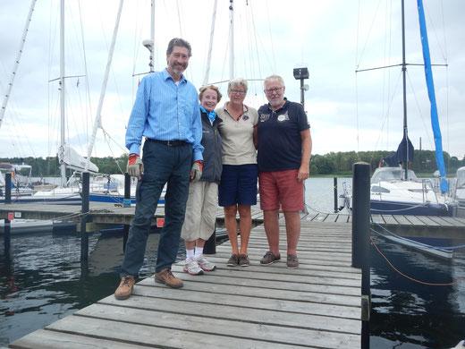 Woidl, Una, Chrissie, Axel - 11th Baltic Anniversary