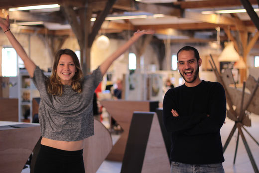 Marie Toni et Oliver Moss, les créateurs d'Ôboem