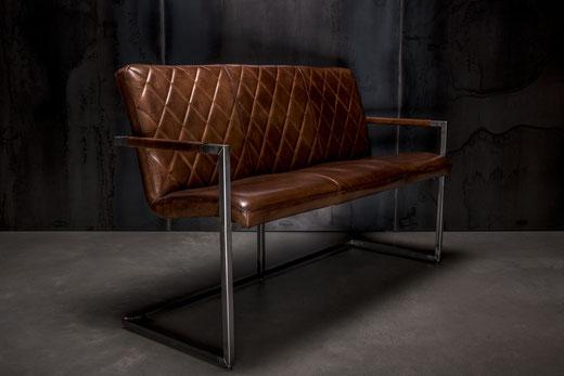 Designer Leder Sitzbank