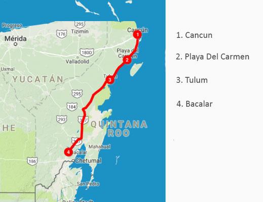 Route wurde ermittelt auf tripline.net