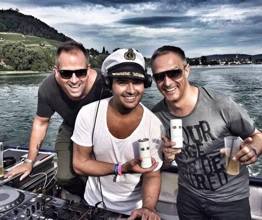 DJ Tom Novy, DJ Sam, DJ Pedro Fernandez, Style am Rhein, Greenus Lifestyle