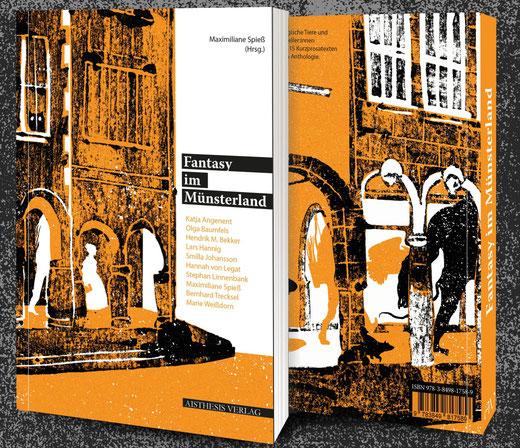 Cover des Buches von Maximiliane Spieß (Hrsg.): Fantasy im Münsterland.
