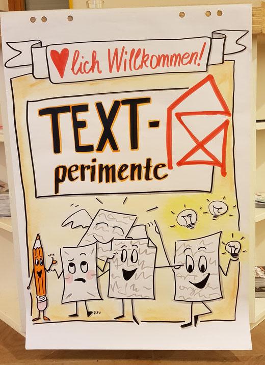 Schreiben, ausprobieren, basteln: Alles ist möglich bei den Textperiementen 2021 im Kreativhaus.