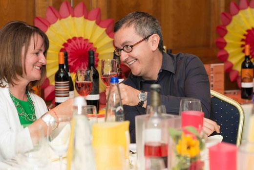 Am 27.06.2014 während unseres Weinevents mit Carlos Mora, Bodega Jané Ventura und Tomàs Cusiné