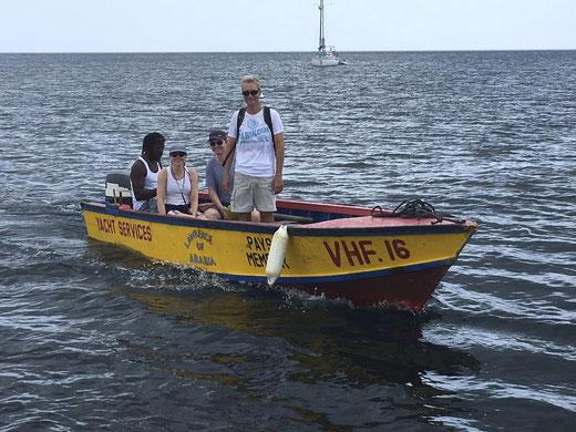 Water Taxis sind schon praktisch...