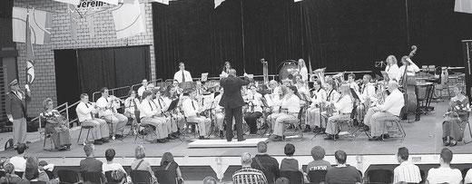 MGW im Einsatz am Eidg. Musikfest in St. Gallen