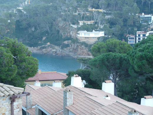 Appartement à louer pour les vacances à Begur avec piscine communautaire et vue sur la plage de Sa Riera