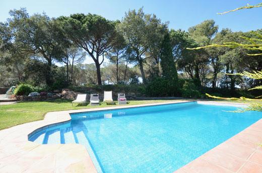 Belles maisons à louer à Begur pour les vacances sur la Costa Brava avec l'agence ab-villa