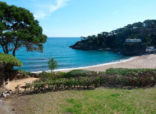Appartement à louer pour les vacances à Begur en Espagne sur la Costa Brava près de la plage.