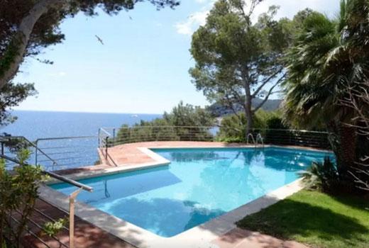 Les plus belles villas à louer pour les vacances à Tamariu Espagne