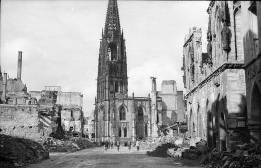 Sommer 1945 - Der Prinzipalmarkt - Foto Carl Pohlschmidt - ULB Münster