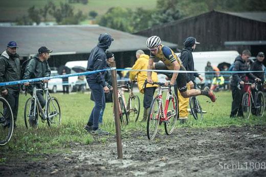 Misch Leyder Cyclocross Boulzicourt © Stéphane Leroy