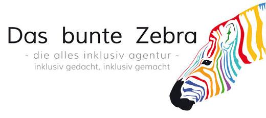 Das bunte Zebra Logo