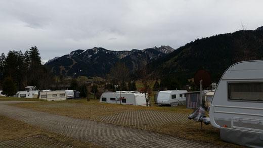 Tannhiemer Tal, Campingplatz Alpenwelt Kienzerle