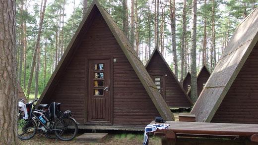 Camping bei Kauksi