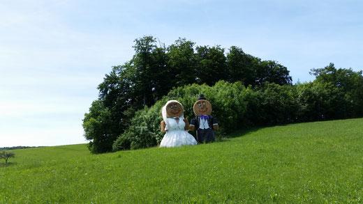 Hochzeitspaar am Ofenlocher Weg