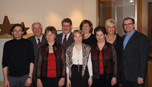 Vorstandsmitglieder Eintracht Chor Lustenau
