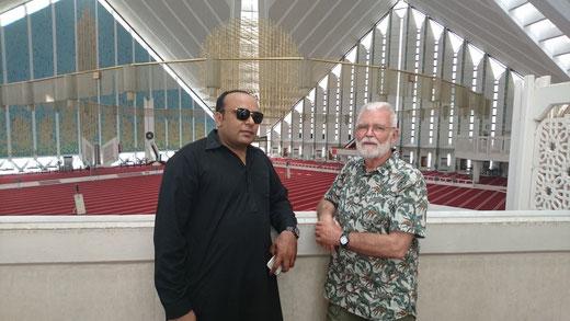 King Shah Faisal Moschee (Innen allein Plaz für 30.000 Gläubige) finanziert: Saudi Arabien