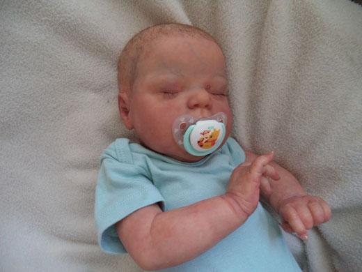 REBORN BABY ALEXIS CASSIE BRACE